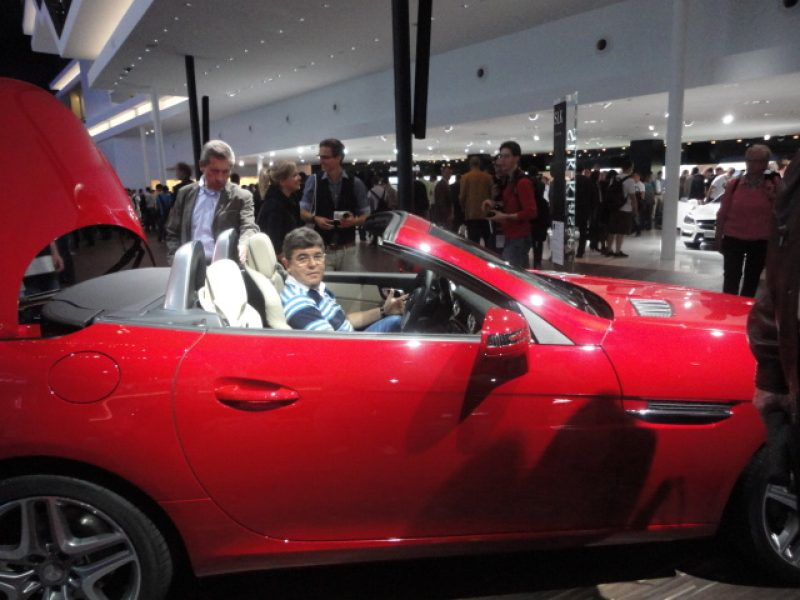 Visita ao salão de Automóveis em Frankfurt 2011